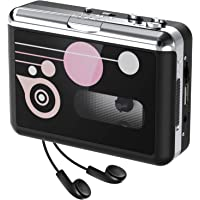 Rybozen Cassette Player Standalone Portable Digital USB Audio Music/Cassette Tape to MP3 Converter with OTG Save into…