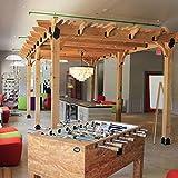 10 ft. x 20 ft. DIY Western Red Cedar Pergola in