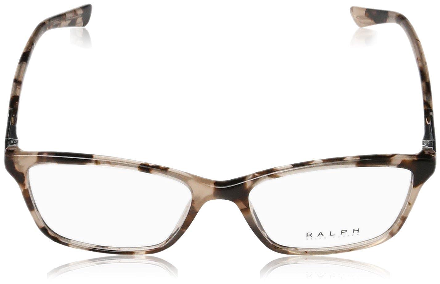 fcd576cc54f Eyeglasses Ralph RA 7044 1143 LIGHT PINK TORTOISE at Amazon Men s Clothing  store