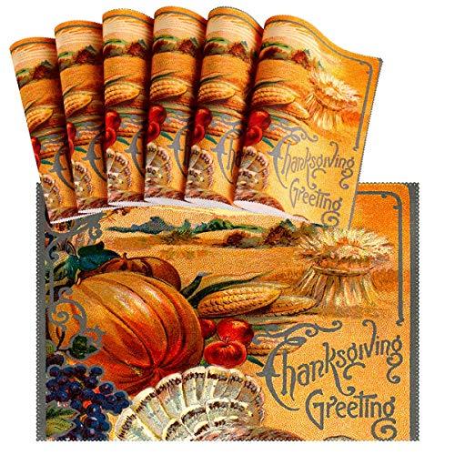 Thanksgiving Placemat Set