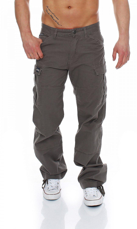 Big Seven Brian Cargo Hose Comfort Fit Herren Jeans