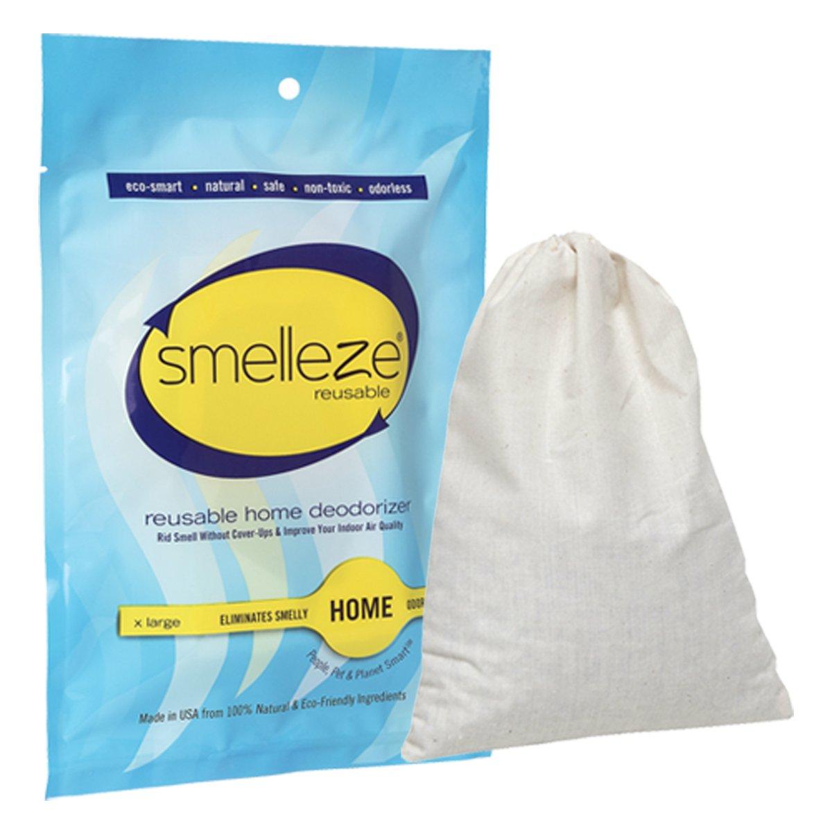 Amazon.com: SMELLEZE Reusable Basement Odor Removal