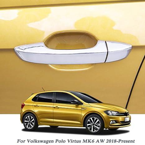 Gnnlor Para Volkswagen Polo Virtus MK6 AW 2018-2020, Cubierta de ...