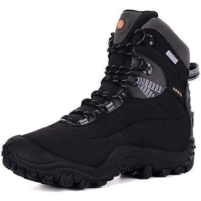 Zapatillas de Senderismo Verano,XPETI al Aire Libre Botas de Montaña Impermeable Trekking Zapatos de Hombre Trail Calzado Alpinismo Escalada Altas ...