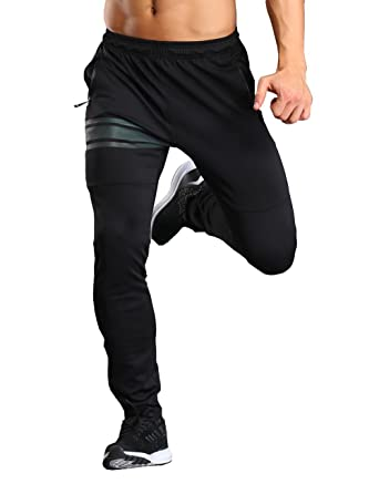 b71c828f Srizgo Tracksuit Bottoms with Zip Pockets Mens Jogging Trousers Sports  Trousers for Sports and Leisure (Black): Amazon.co.uk: Clothing