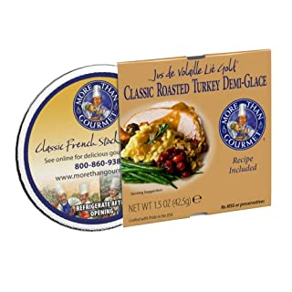 More Than Gourmet Jus De Volaille Classic Roasted Turkey Demi-glace, 1.5 Oz