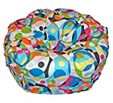 Ahh! Products Kaleidoscope Cotton Washable Large Bean Bag Chair
