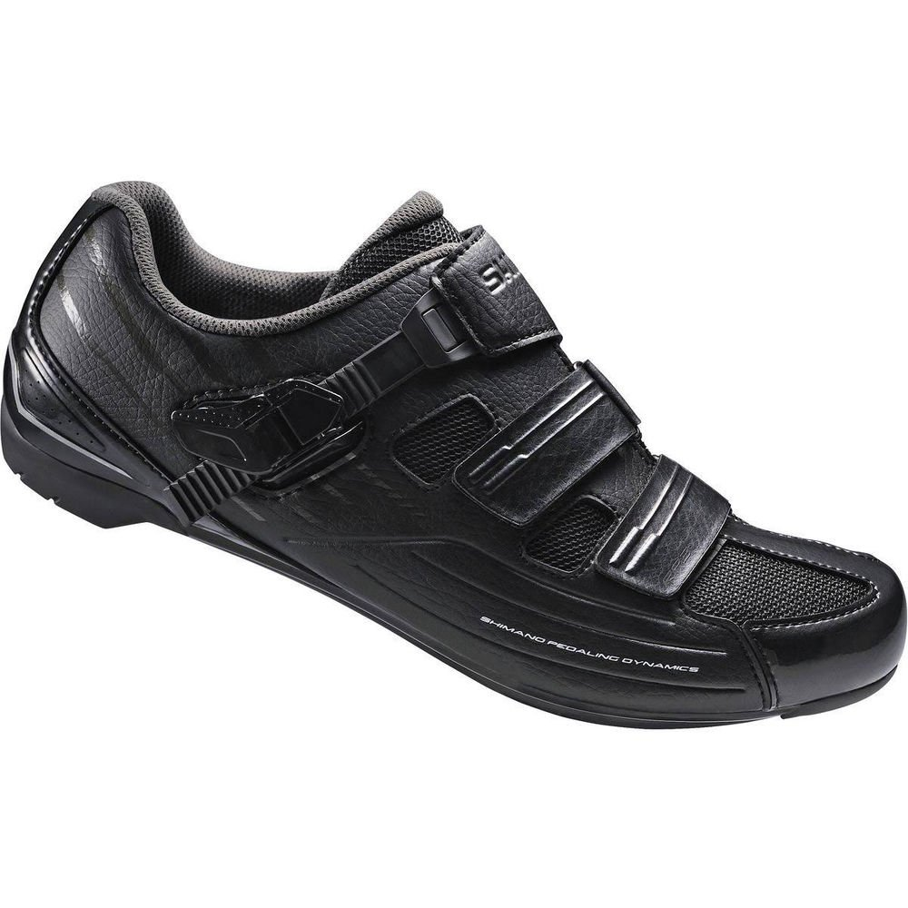 Shimano Men's RP3 Black Road Cycling Shoes - 42