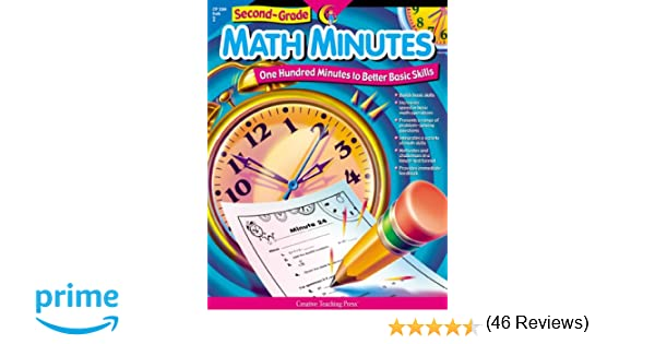 Time Worksheets 2nd grade telling time worksheets : Amazon.com: Math Minutes, 2nd Grade (0030554025846): Angela Higgs ...