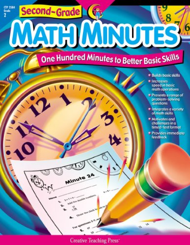 Math Minutes, 2nd Grade (One Hundred Minutes to Better Basic Skills)