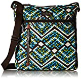 Vera Bradley Travel Ready Crossbody, Rain Forest