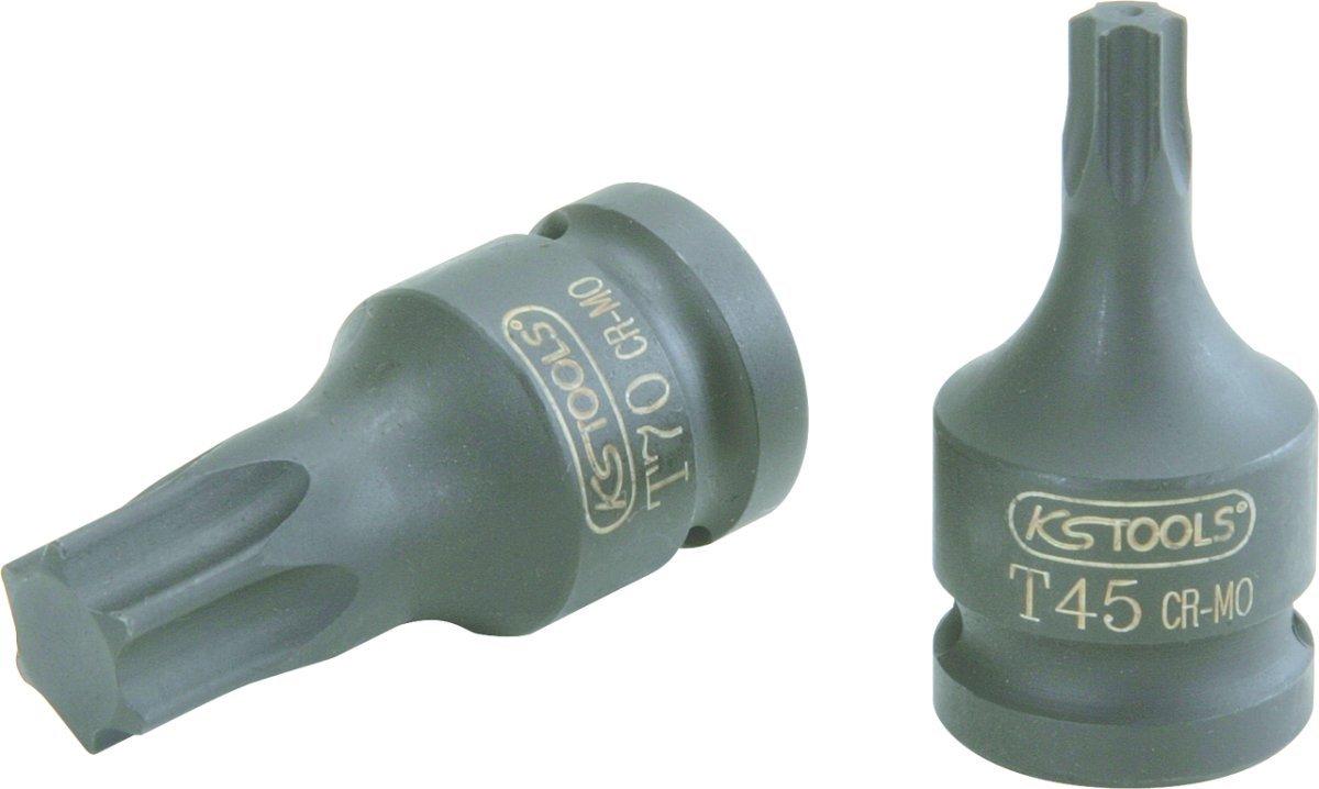 KS Tools 911.0913 Douille /à chocs courte torx 1//2 T40