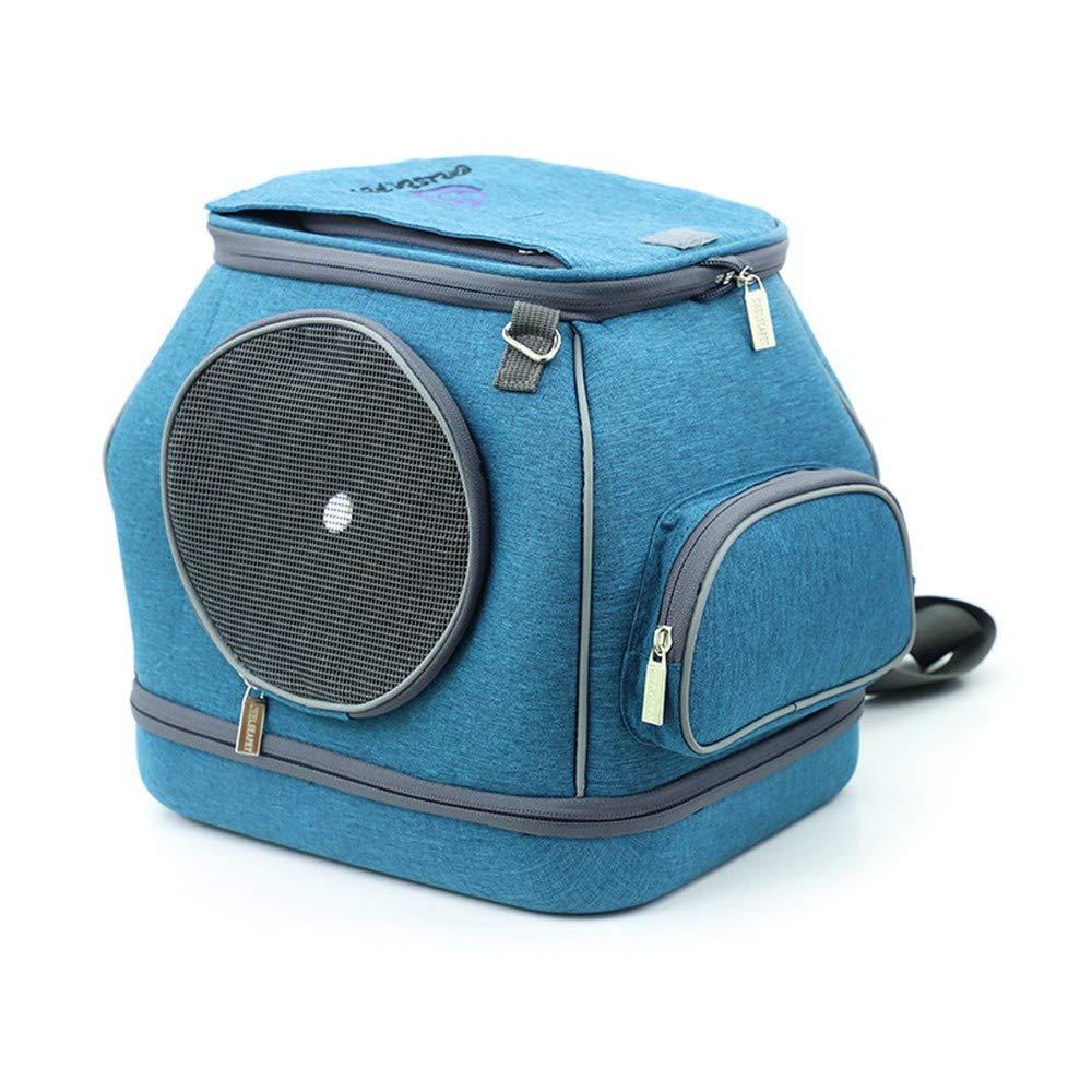 bluee (CNPT27C) ZMMAPet Out Portable Bag Portable Pet Backpack Cat,bluee (CNPT27C)