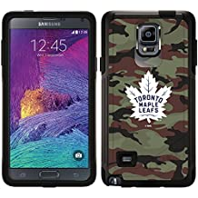 Toronto Maple Leafs - Traditional Camo design on Black OtterBox Commuter Series Case for Samsung Galaxy Note 4