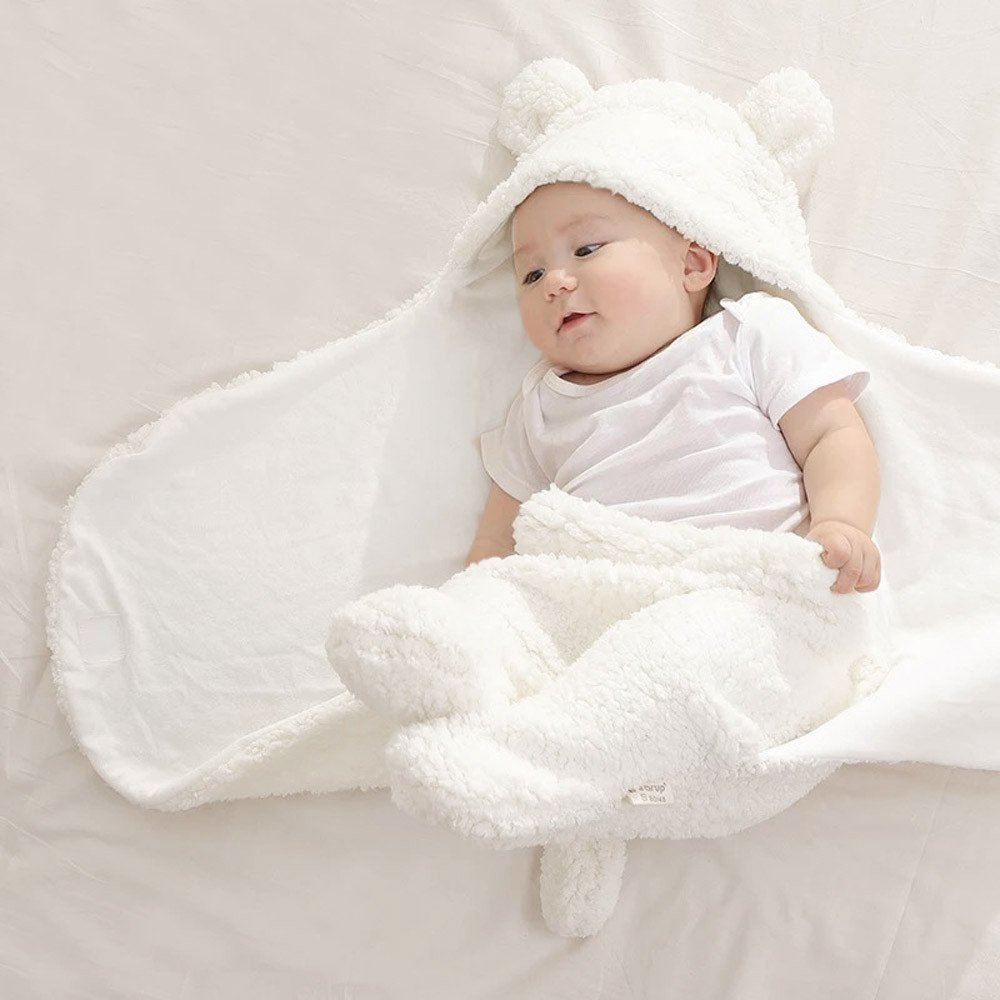 KONFA Toddler Newborn Baby Girls Boys Cartoon Bear Sleep Sack Bag,Sleepwear Swaddle Wrap Wearable Blanket Photography Prop