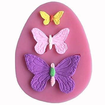 Molde silicona Mariposas Decoración mariposa torta pasta Azúcar Cake Design: Amazon.es: Electrónica