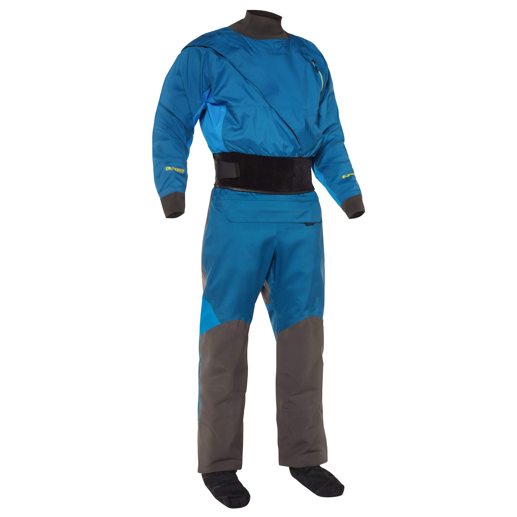 NRS Crux Drysuit - Men's Deep Blue Large