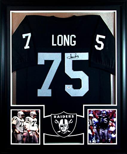 ac64ee542 Howie Long Oakland Raiders Autograph Signed Custom Framed Jersey  1 PSA DNA  Certified