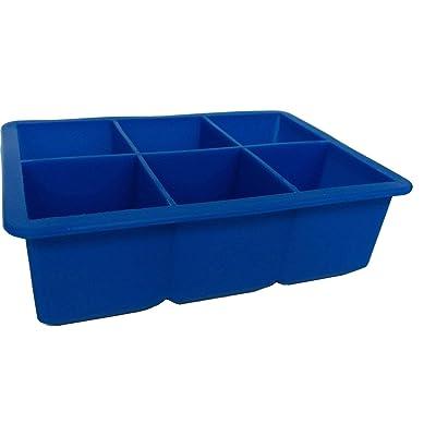 Bella Vita AI Tray Blue - Ice Cube Trays: Home & Kitchen