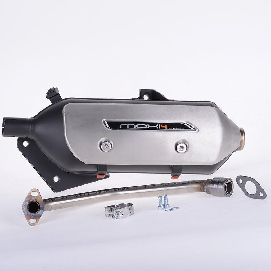 Auspuff Tecnigas New Maxi 4 @ 125 JF07 Dylan JF10 Pantheon JF12 SH JF09