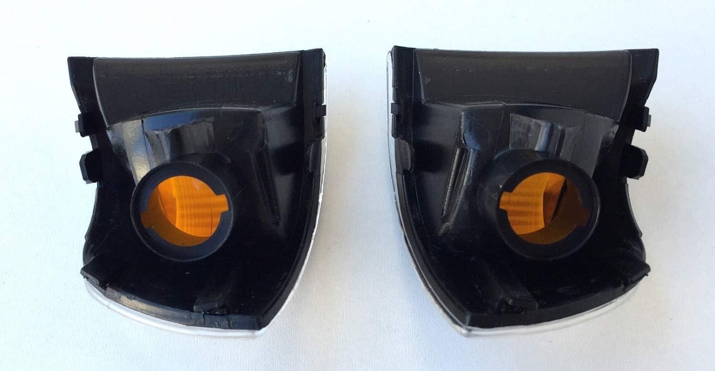 rechts SET kompatibel mit Daily 4 und 5 von 2006 bis 2014 Glas klar Reflektor gelb OHNE Leuchtmittel Pro!Carpentis Blinker Spiegelblinker links