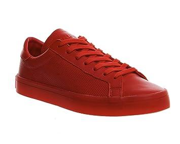 best sneakers 1973d d963e adidas Court Vantage Homme Baskets Mode Rouge
