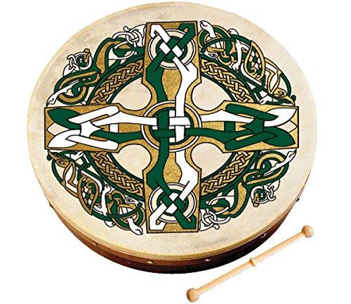 Waltons WM1932 12-Inch Celtic Cross Bodhran by Waltons