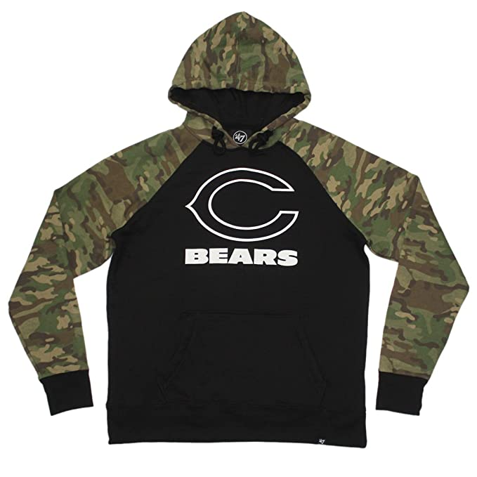 online store 55f59 1742d BIG & TALL Mens Athletic Warm Pullover Hoodie: CHI BEARS ...