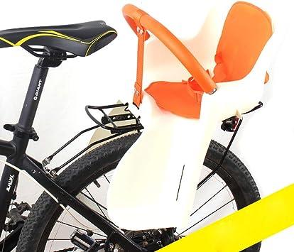 Ljdgr Accesorios para Bicicletas Portabicicletas con Asiento de bebé Trasero para niños de Bicycle Kids con Asiento Ajustable, color2: Amazon.es: Deportes y aire libre