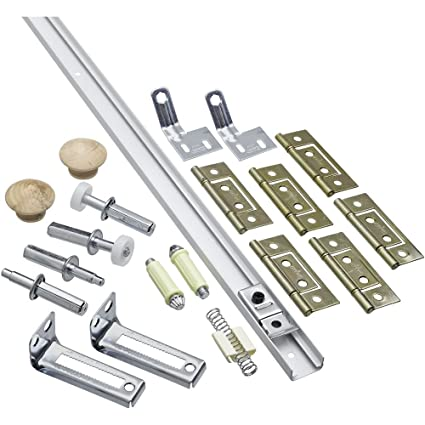National Hardware N343 731 391d Folding Door Hardware Set In White