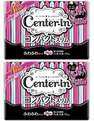 日亚:尤妮佳CENTER-IN日用超薄棉柔卫生巾无荧光剂24CM*17*2包 折后实付514日元,约¥31