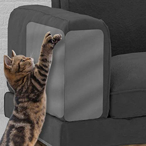 2PCS Pet Scratch Couch Protector, Muebles para Gatos, Protector de Muebles Cat Scratch Guard