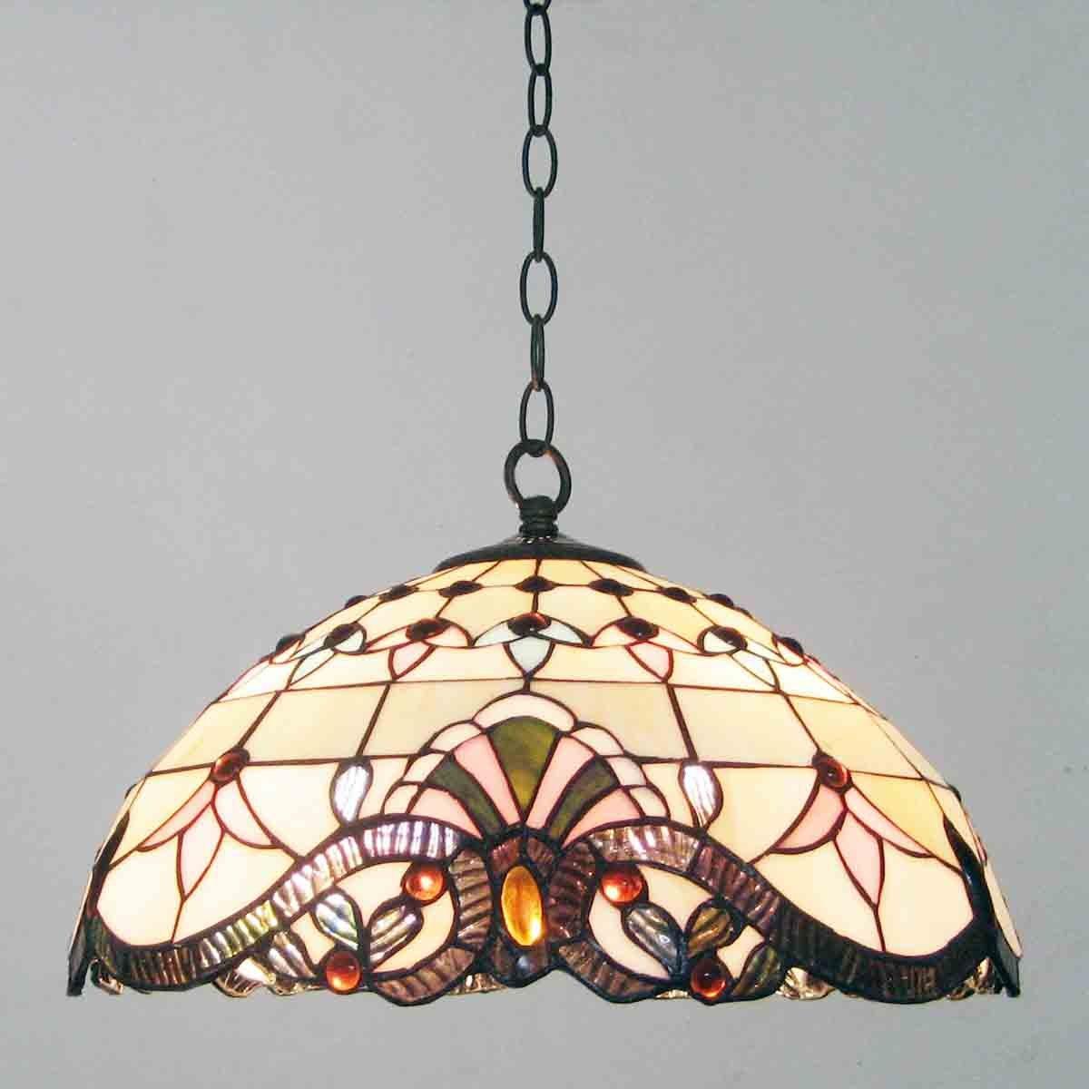 Continental Barock Restaurant Deckenleuchte Anhänger Lampen Tiffany ...