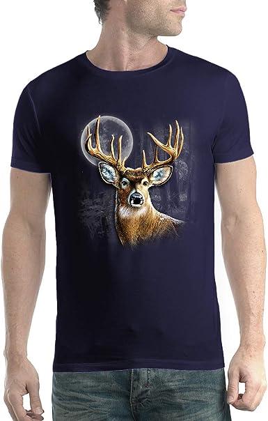 Cola Blanca Ciervo Caza Hombre Camiseta XS-5XL Nuevo: Amazon.es: Ropa y accesorios
