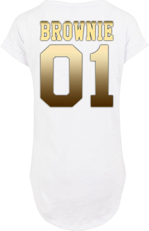 TRVPPY Femme Oversize Longue T-Shirt Set Mod/èle Blondie /& Brownie diff/érentes Tailles et Couleurs