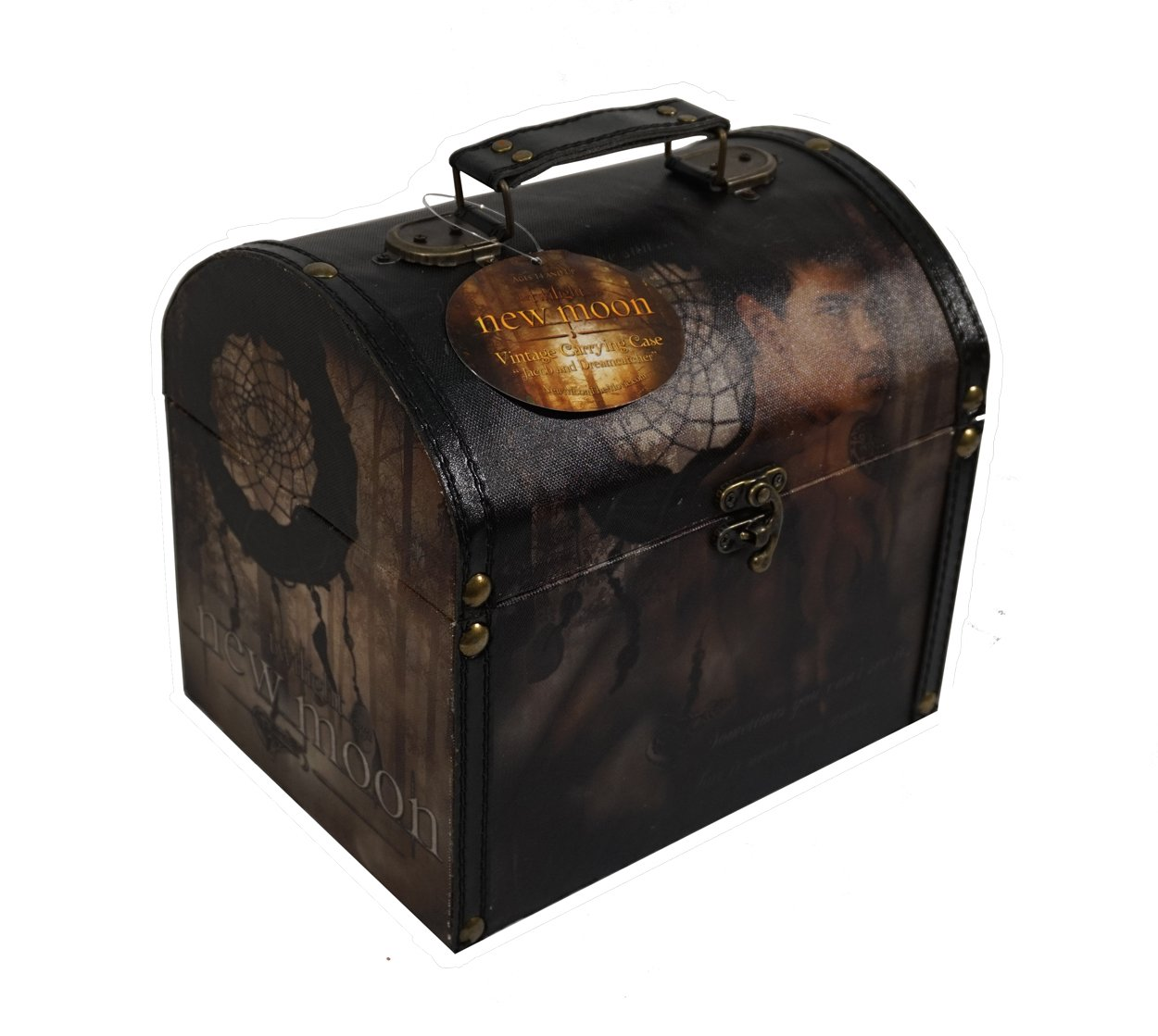 Twilight New Moon ''Jacob and Dreamcatcher'' Vintage Carrying Case