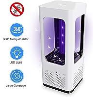 Lixada Lámpara Antimosquitos Electrico/Solar LED 2.5/3/5W USB Sin