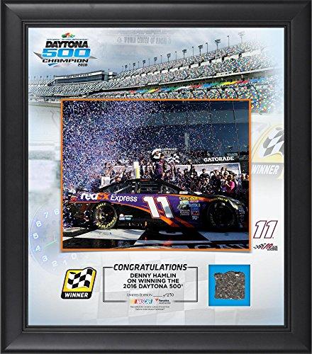 Denny Hamlin 2016 Daytona 500 Champion Framed 15