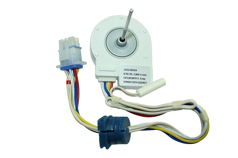 WR60X10074 Evaporator Fan Motor for General Electric Refrigerator