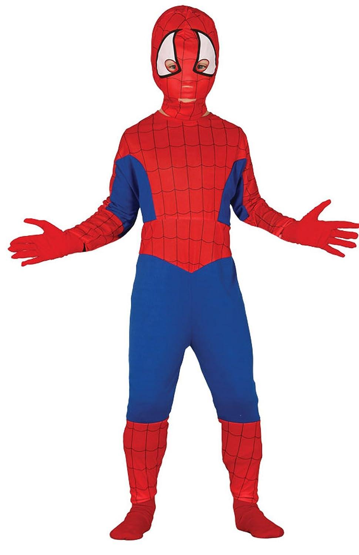 Guirca - Disfraz de Spiderman, talla 3-4 años, color rojo (83166): Amazon.es: Juguetes y juegos