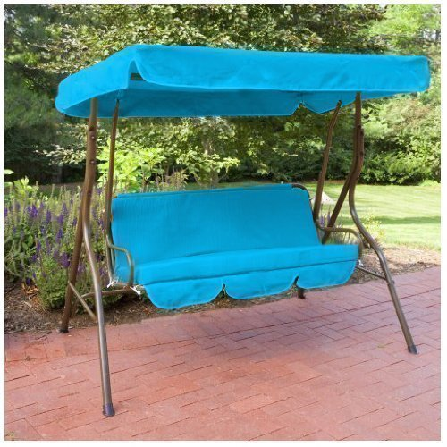 Water Resistant 3 Seater Replacement Canopy Seat Pad ONLY For Swing Garden Hammock