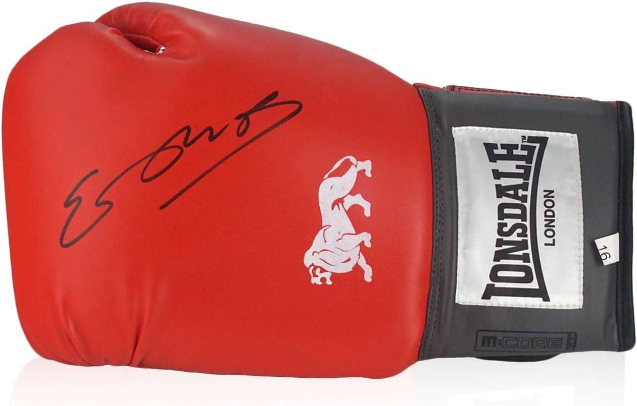 Kell Brook Firmado de guantes de boxeo en caja de regalo: Amazon.es: Deportes y aire libre