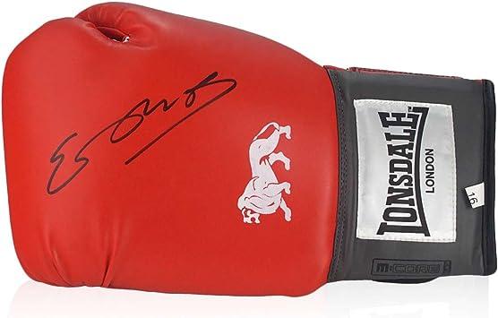 Kell Brook Firmado de guantes de boxeo en caja de regalo: Amazon ...