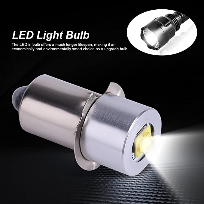 Amazon.com: Asixx LED Camping Light, 5W 6-24V P13.5S High Bright LED Light Lamp or Flashlight Replacement Bulb, Flashlight Torch Work Light Improved Vision: ...
