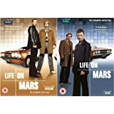 Life on Mars 1-2 : Complete BBC Series 1 and 2 DVD Collection + Extras