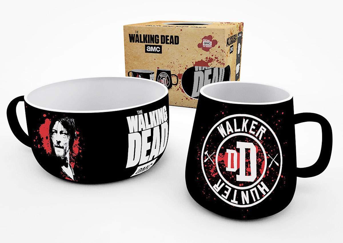 Close Up Set para el Desayuno The Walking Dead - Daryl/Walker Hunter: Amazon.es: Hogar