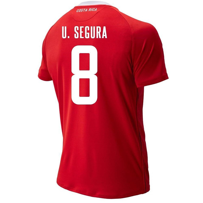 New Balance Men's U. Segura # 8 Costa Rica Home Soccer Jersey FIFA World Cup Russia 2018/サッカーユニフォーム コスタリカ ホーム用 セグラ #8 B07CZ5219B US Medium