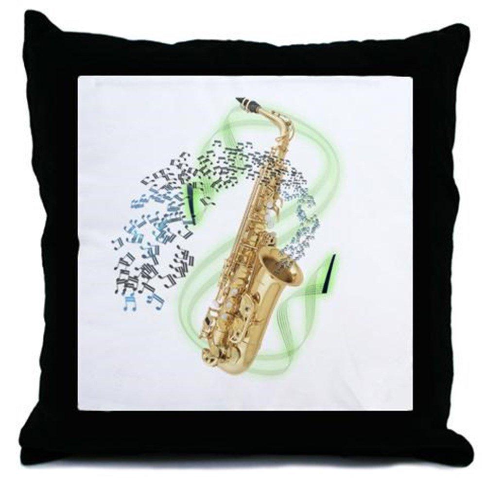 CafePress - Alto Saxophone - Decor Throw Pillow (18''x18'')