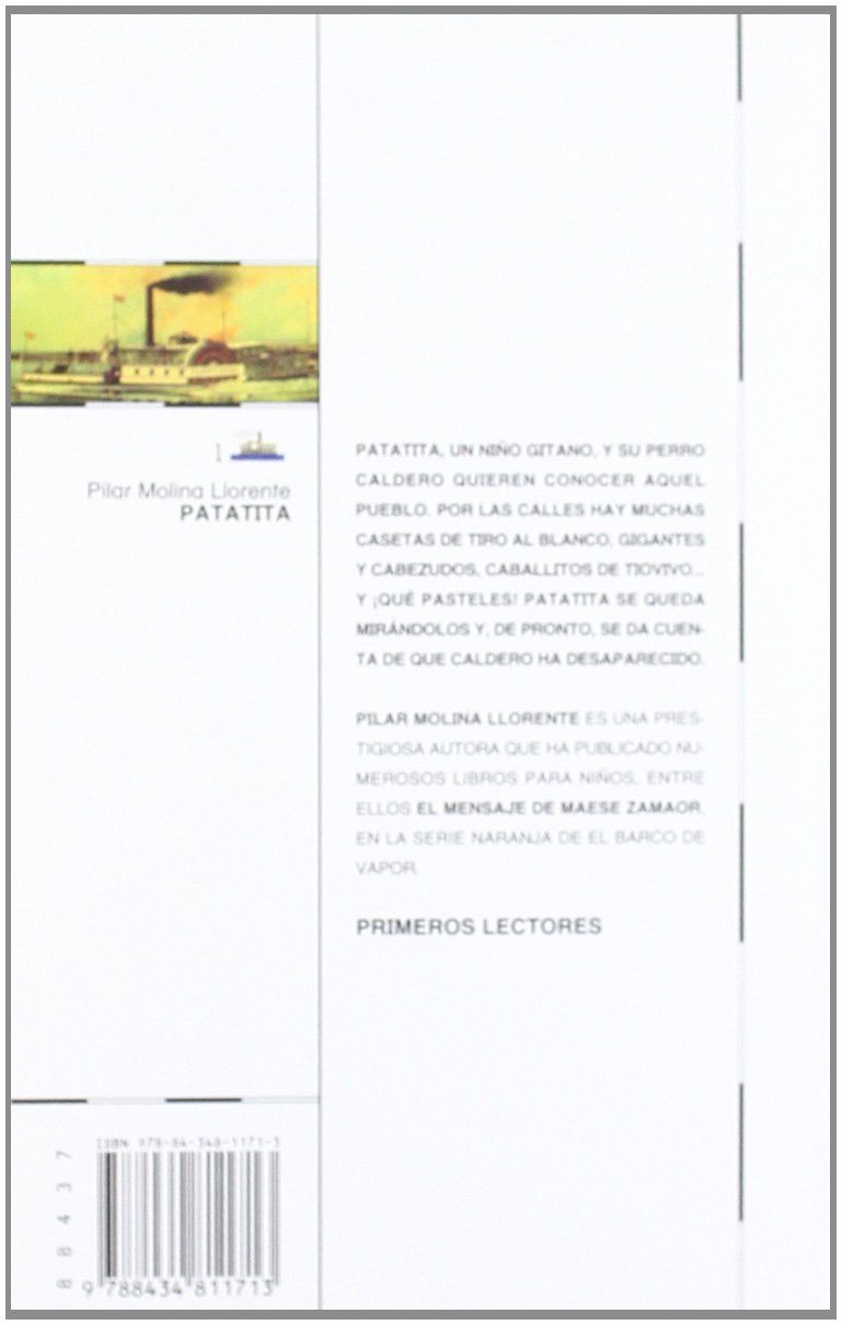 Patatita (El barco de vapor) (Spanish Edition): Pilar Molina Llorente: 9788434811713: Amazon.com: Books