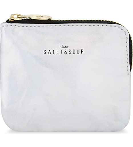 Studio Sweet & Sour - Monedero plateado plata: Amazon.es ...